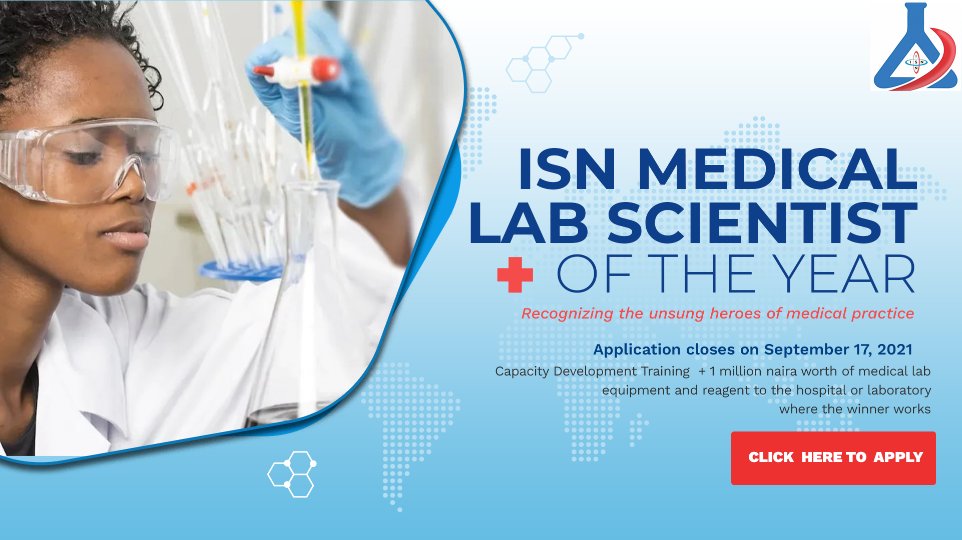 ISN MEDICAL LABORATORY SCIENTIST OF THE YEAR AWARD